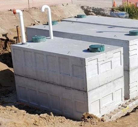 Model 22500 Fire/Water Storage Tank