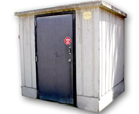 Model 50 - Precast Concrete Utility/Storage Unit