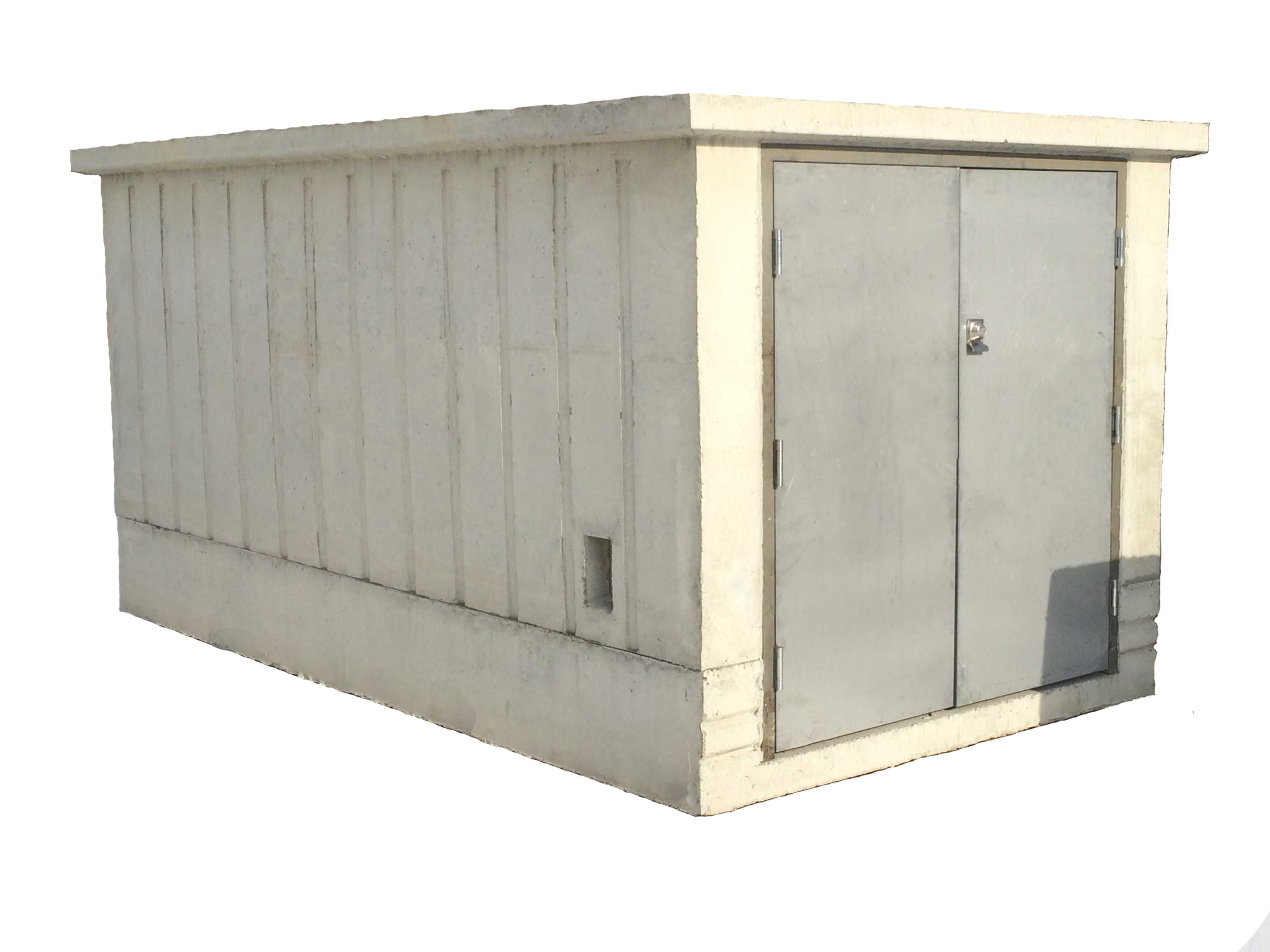 Model 90 - Precast Concrete Utility/Storage Unit